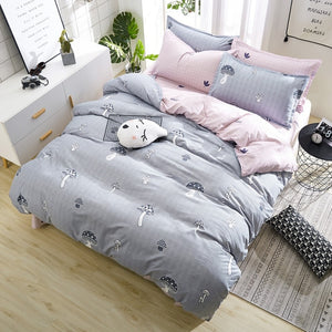 classic flower bed linens Simple luxury bedding set home textiles fashion bedclothes Duvet Cover set Quilt cover Queen king size