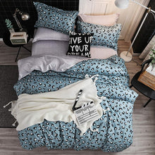 Load image into Gallery viewer, Yellow duck Soft comfortable 4pcs Bedding Set Bed Linen Bed Set Sheet Duvet Cover Pillowcase king queen full twin size