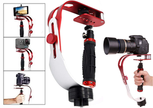 PRO Video Camera Stabilizer - Professional Looking & Smooth Scenes