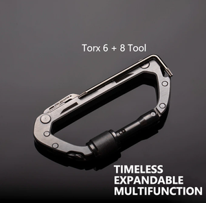 The Most-Used Multifunctional Carabiner-Do More With Less