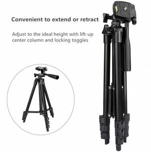 Universal RC adjustable tripod stand for camera and smartphones