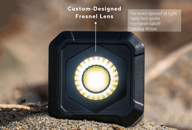5600K LED Light For Photo & Video - Portable & Waterproof Design