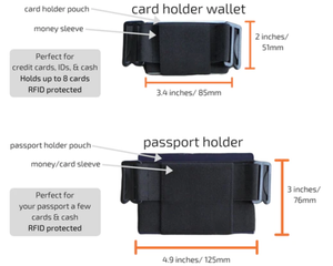 The Minimalist Clip-on Invisible Wallet - Easy & Safe Solution For Carrying