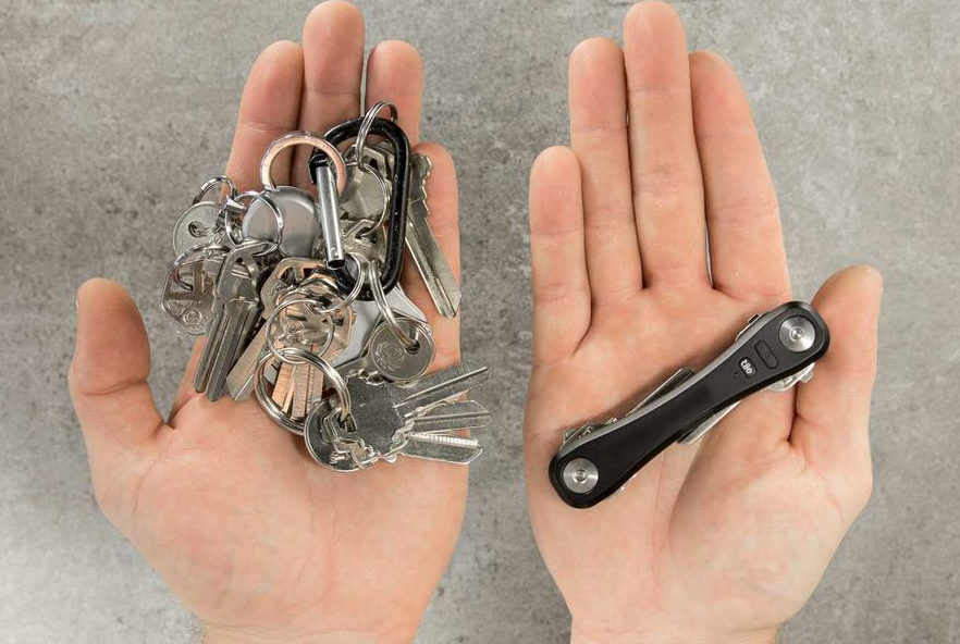 Minimalist Multifunction Key Holder - The Perfect Organizer For Your Keys