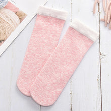 Load image into Gallery viewer, Warm Colored Cotton Plus Velvet Thickening Socks