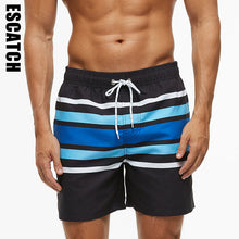 Load image into Gallery viewer, New Men's Swim Trunks Quick Dry Beach Shorts with Pockets with Mesh Lining