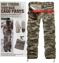 Load image into Gallery viewer, Camouflage Cargo Pants