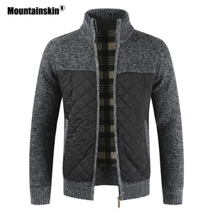 Mountainskin Men's Sweaters Warm Knitted Sweater Jackets