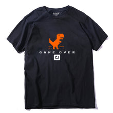 Load image into Gallery viewer, 100% cotton men dino t-shirt