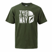 Load image into Gallery viewer, The Mandalorian Cotton T Shirts