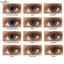 Load image into Gallery viewer, EYESHARE- 2pcs/pair 3 Tone Series Colored Contact Lenses