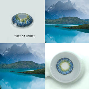 EYESHARE- 2pcs/pair 3 Tone Series Colored Contact Lenses
