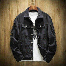 Load image into Gallery viewer, Men's Autumn Denim Jackets