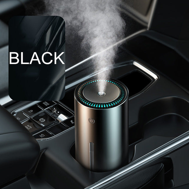 Baseus 300ml Air Humidifier Car Aroma Essential Oil Diffuser for Home Office Car Air