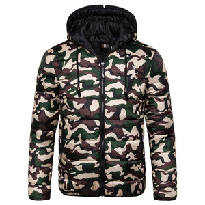 Waterproof Men's Hoodied Parka