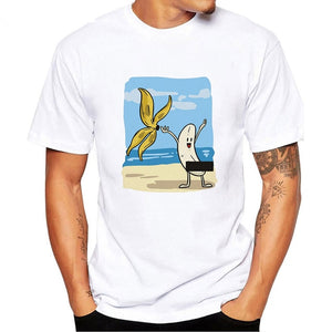 Men's Banana Design T-shirt