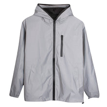 Load image into Gallery viewer, Long Sleeved Reflective jacket men / women windbreaker jackets