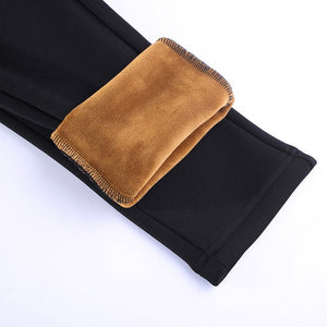 Women High Waist Elastic Pants