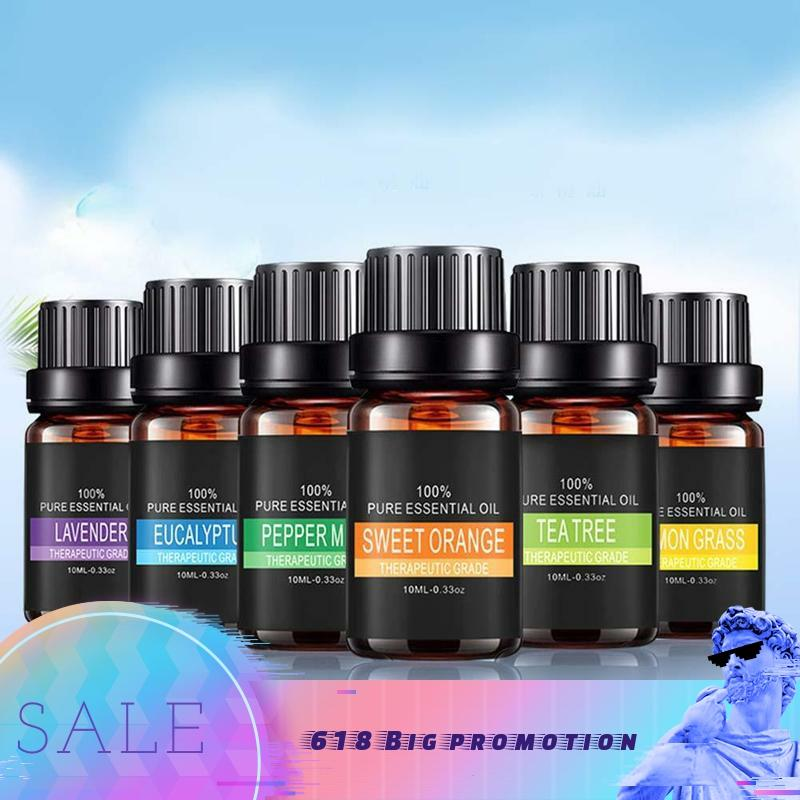 10ml Pure Plant Essential Oils For Aromatic Aromatherapy Diffusers Aroma Oil