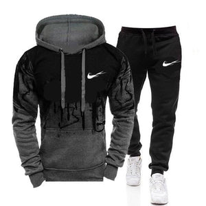 new Autumn and winter Men's Sets hoodies+Pants Harajuku Sport Suits Casual Sweatshirts Tracksuit 2020 new Brand Sportswear