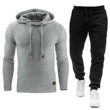 Load image into Gallery viewer, New Tracksuit Solid Hooded Sweatshirt+Pants