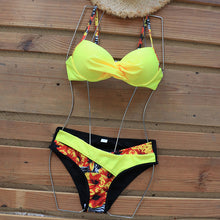 Load image into Gallery viewer, Bikini Set Patchwork Swimsuits