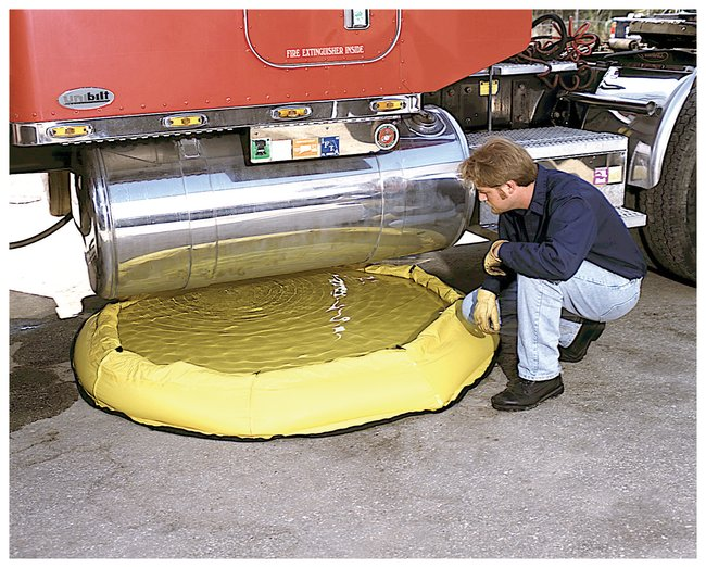 Pop-up lekreservoir (250 liter)
