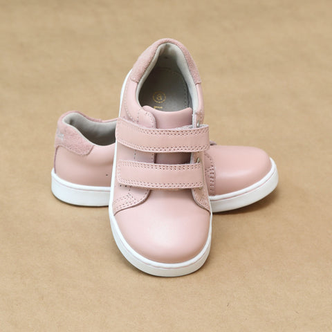 Girls Kenzie Double Velcro Sweetheart Sneaker