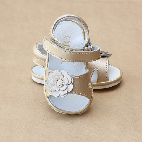 Angel Baby Girls Flower Cut Out Sandal
