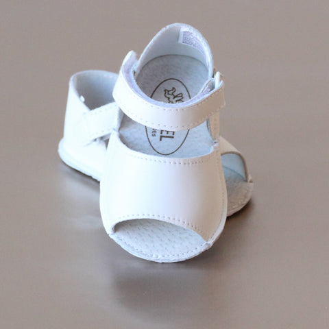 FINAL SALE - Angel Baby Girls Open Toe Crib Sandal