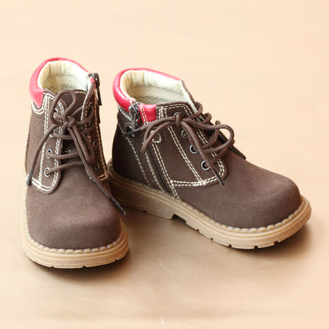 FINAL SALE: Toddler Boys Lace Up Chukka Boot