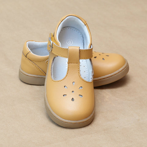 L'Amour Girls Chelsea Playground T-Strap Mary Janes