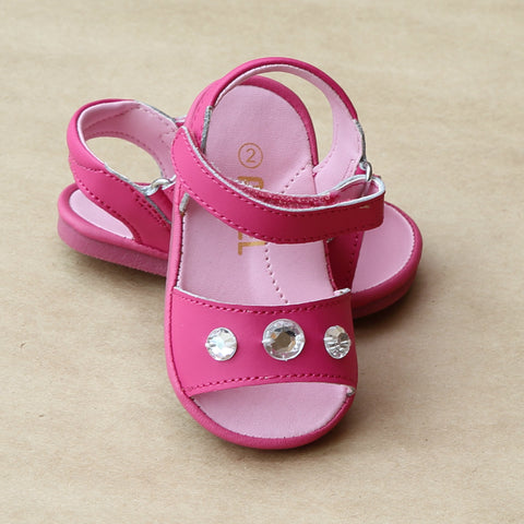 Angel Baby Girls Jeweled Sandal