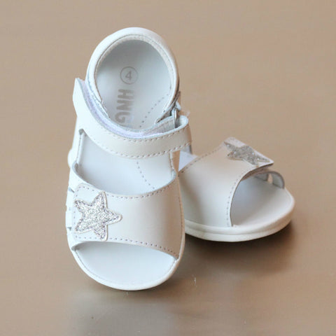 Angel Baby Girls Glitter Star Sandal