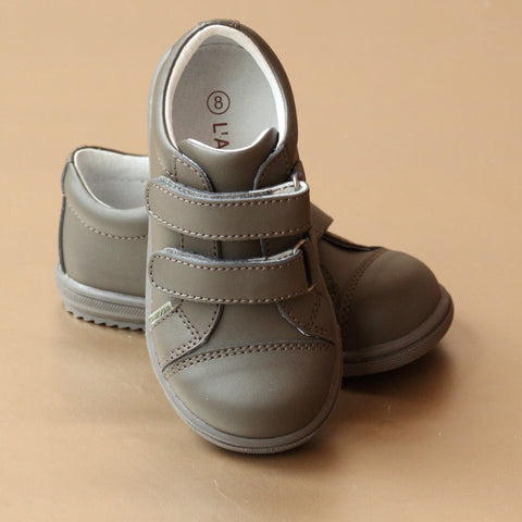 FINAL SALE: L'Amour Boys Double Velcro Strap Sneaker
