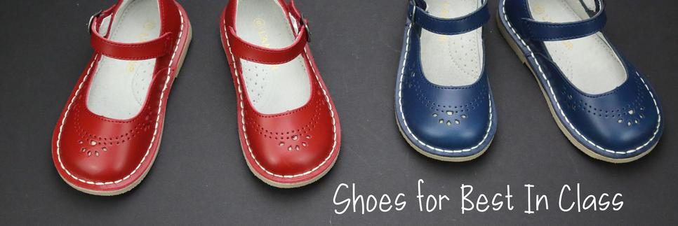 Classic Vintage Inspired Girls School Mary Janes at Petitfoot.com
