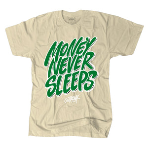 """Money Never Sleeps"" T-shirt"