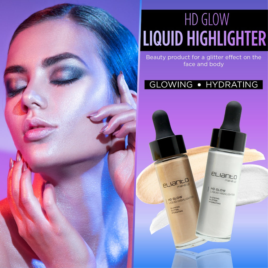 HD Glow Liquid Highlighter - Elianto