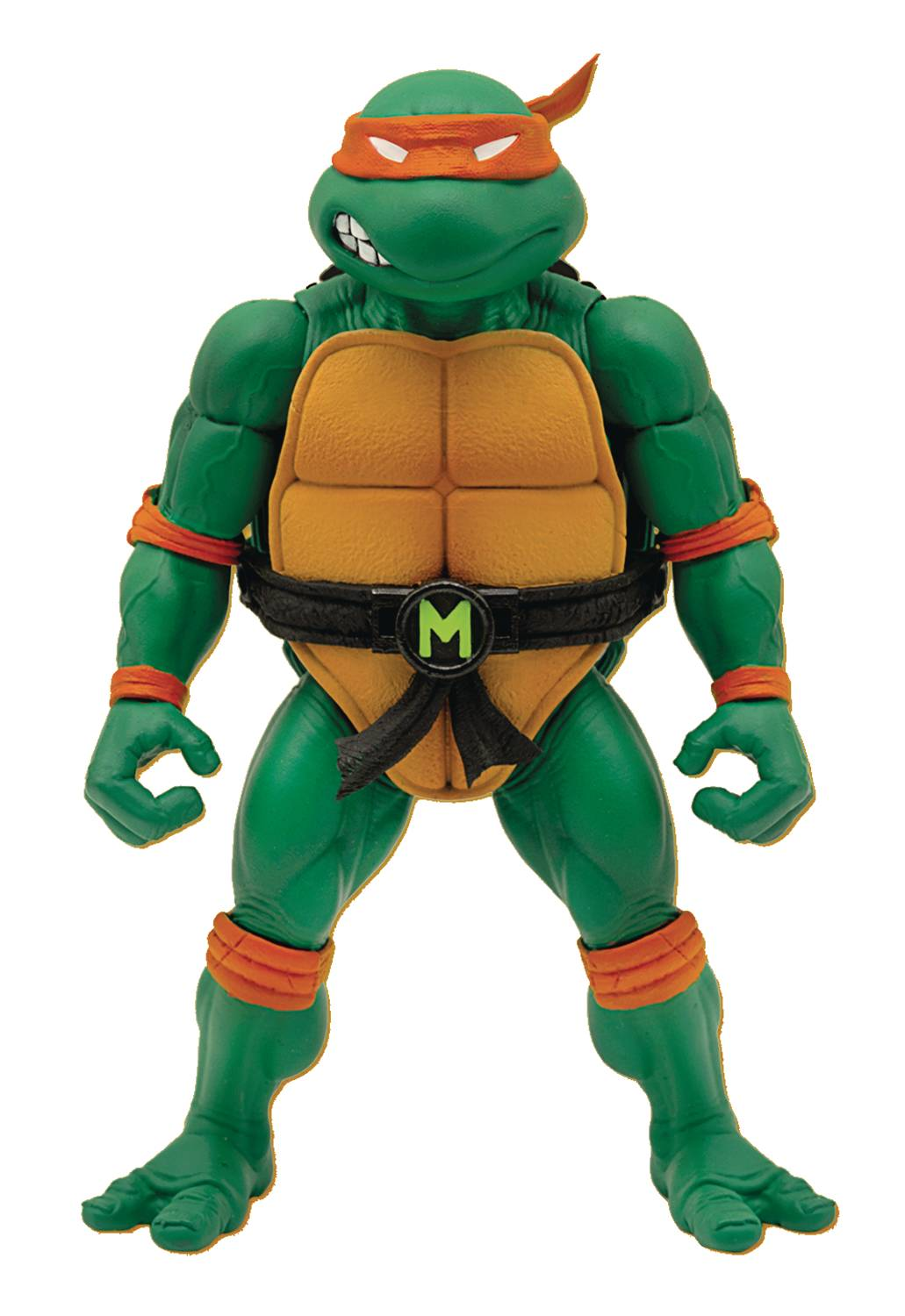 TMNT ULTIMATES WAVE 3 MICHELANGELO ACTION FIGURE