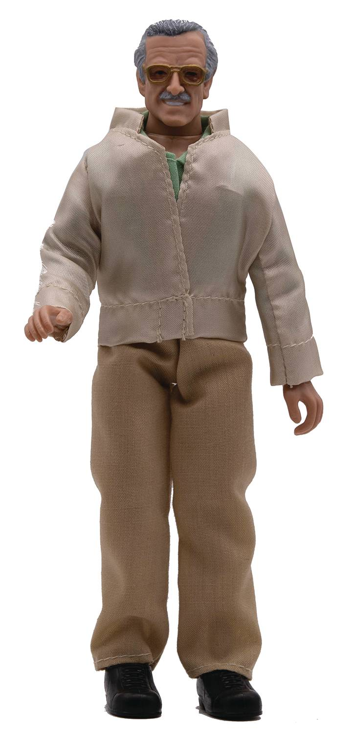 MEGO STAN LEE 8IN ACTION FIGURE