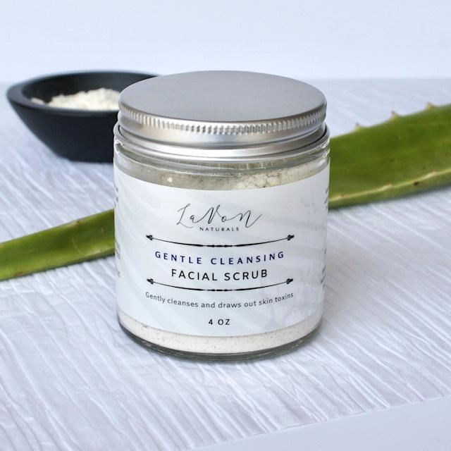 Gentle Cleansing Facial Scrub - LaVon Naturals
