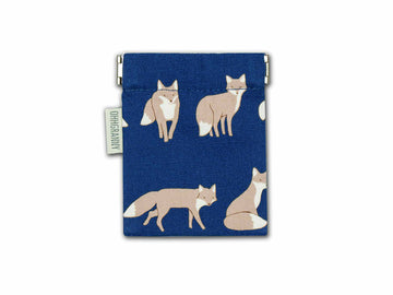 Playful Fox (Navy)