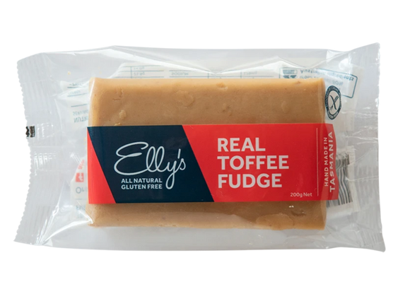 REAL TOFFEE FUDGE - Ellys Gourmet Confectionery