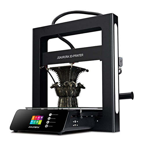 JGAURORA 3D Printer A5 Updated A5S Full Metal Diy Kit Extreme High Accuracy Large Print Size 305x305x320mm Impressora 3d