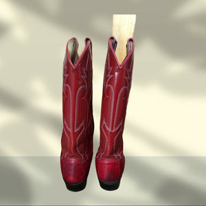 Dan Post Red Cowboy Boots - Pale Ale Boutique