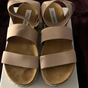 Steve Madden Kimmie Blush Sandals - Pale Ale Boutique