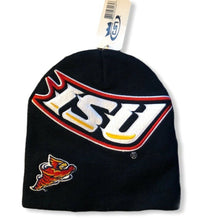 Load image into Gallery viewer, ISU Black Beanie - Pale Ale Boutique
