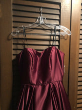 Load image into Gallery viewer, Brand new With Tags Size 4 Burgundy Prom Dress - Pale Ale Boutique