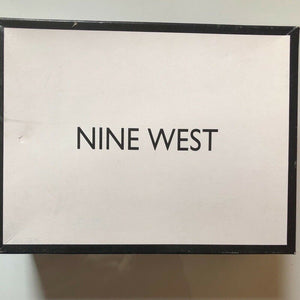 Nine West Black Wedge Sandals - Pale Ale Boutique