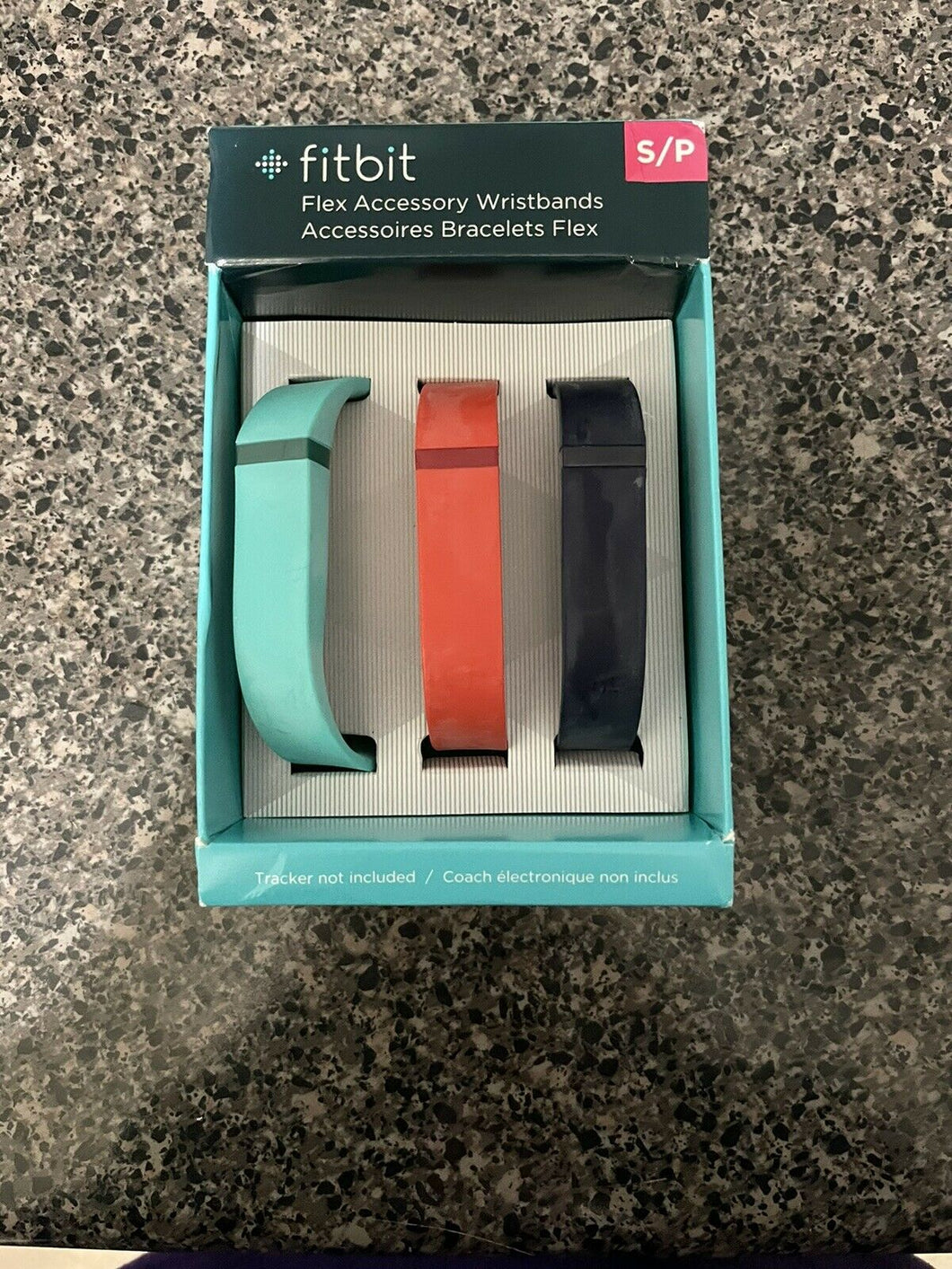 Fitbit Flex Small Wristbands Accessory Bands, Black / Red /Blue, NEW, Open Box - Pale Ale Boutique